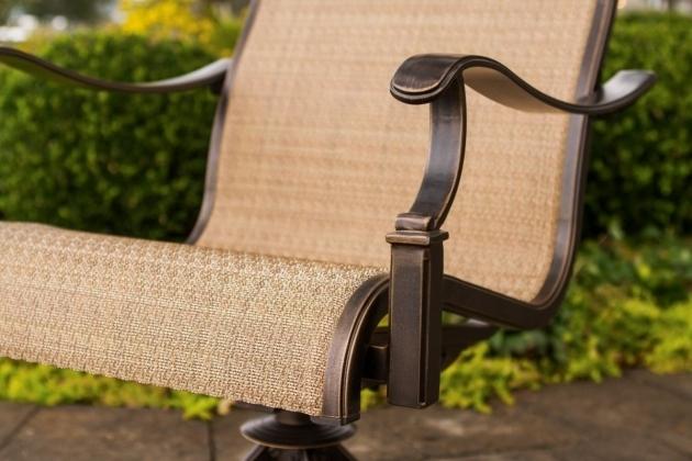 High Back Swivel Rocker Patio Furniture Home Outdoor Decoration Hanover Monaco Swivel Rocker Chair Image 75