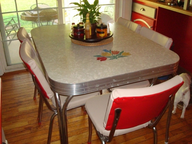 Amazing 50's Kitchen Table And Chairs Pics