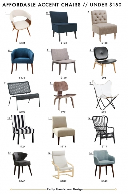 Amazing Accent Chairs Under $150 Picture