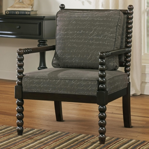 Astonishing Accent Chairs With Wood Arms Pics