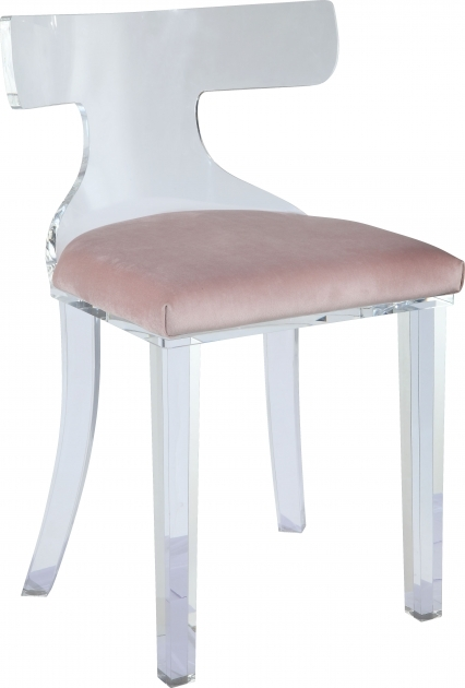 Astonishing Light Pink Accent Chair Picture