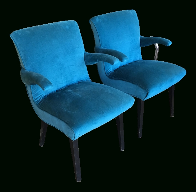 Astonishing Peacock Blue Accent Chair Pictures