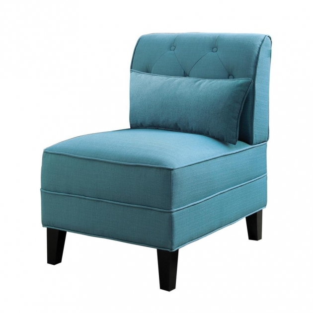 Astonishing Teal Blue Accent Chair Picture