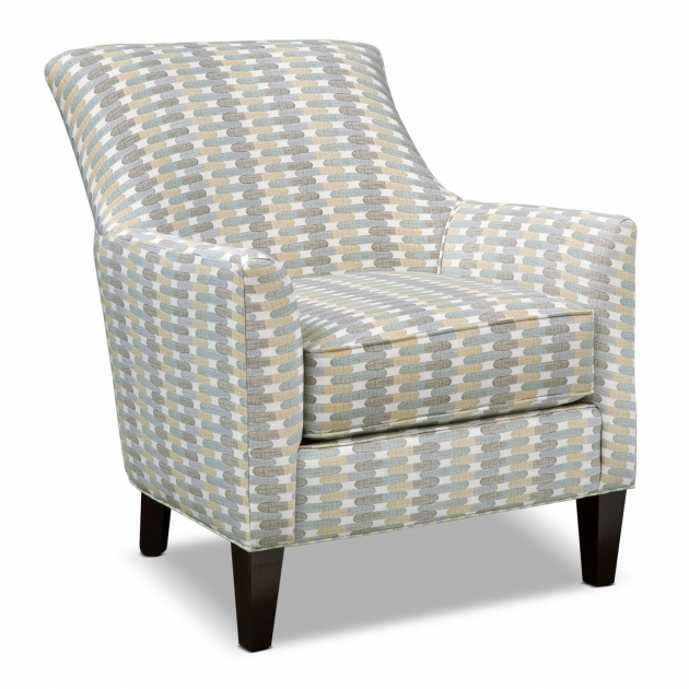 Astonishing Yellow And Gray Accent Chair Pic
