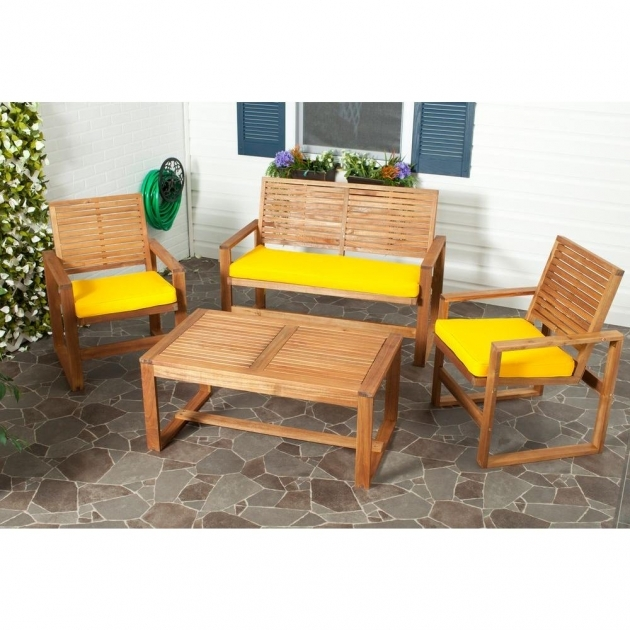 Astonishing Yellow Patio Chairs Pictures