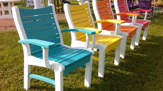Attractive Colorful Patio Chairs Photo