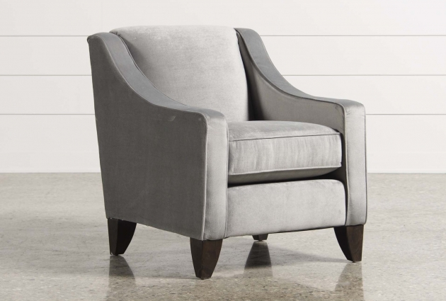 Attractive Light Gray Accent Chairs Picture
