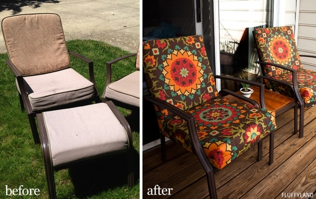 Attractive Recovering Patio Chair Cushions Pics