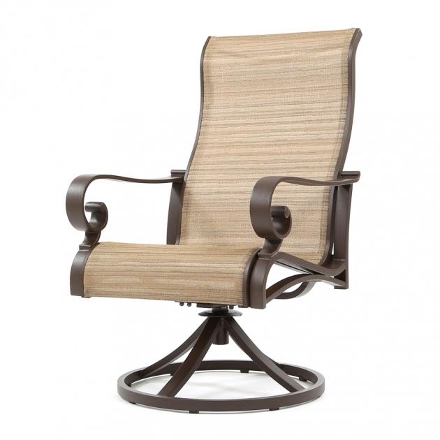Attractive Sling Swivel Rocker Patio Chairs Ideas