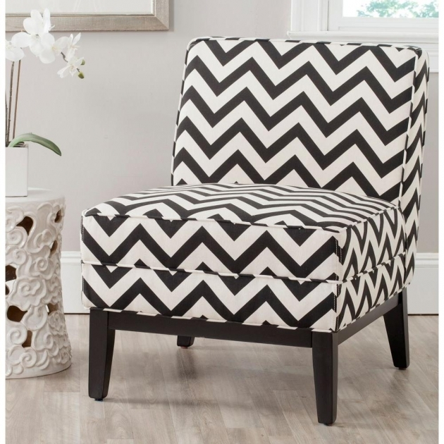 Awesome Accent Chairs Black And White Images