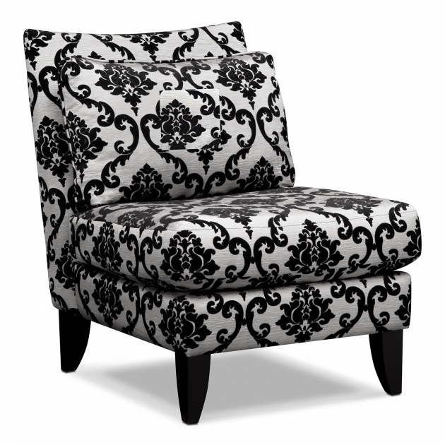 Awesome Damask Accent Chair Photos