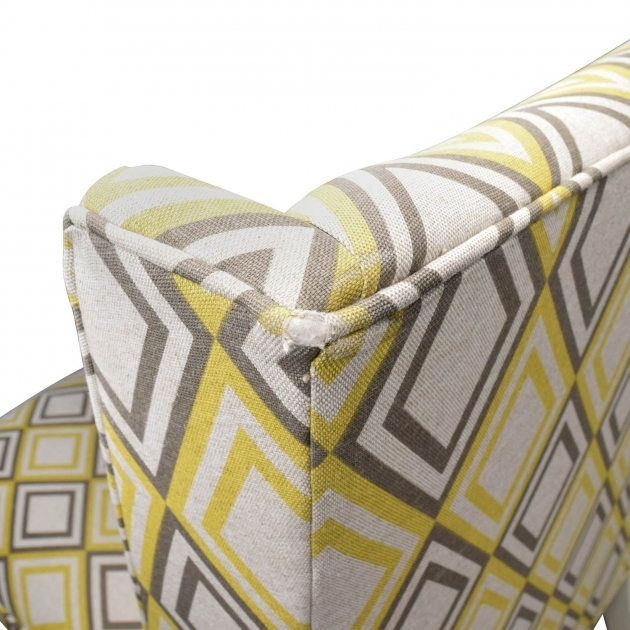Awesome Gray And Yellow Accent Chair Images