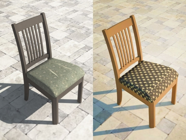 Awesome Reupholster Kitchen Chair Pic