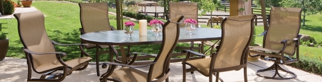 Awesome Sling Swivel Rocker Patio Chairs Photo