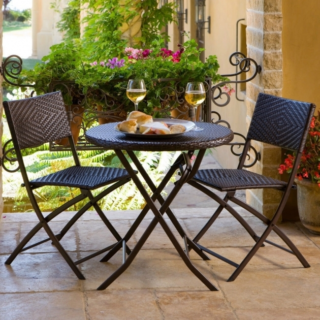 Awesome Small Outdoor Patio Table And Chairs Picture