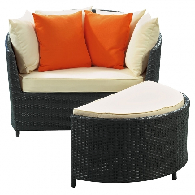Best Patio Chair With Hidden Ottoman Photo