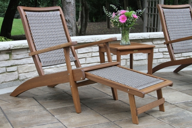 Best Patio Chair With Hidden Ottoman Pic