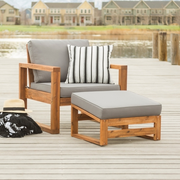 Best Patio Chair With Ottoman Set Pics