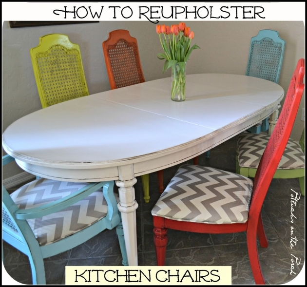 Best Reupholster Kitchen Chair Photo