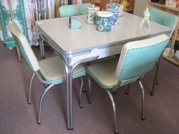 Classy 50's Kitchen Table And Chairs Pictures