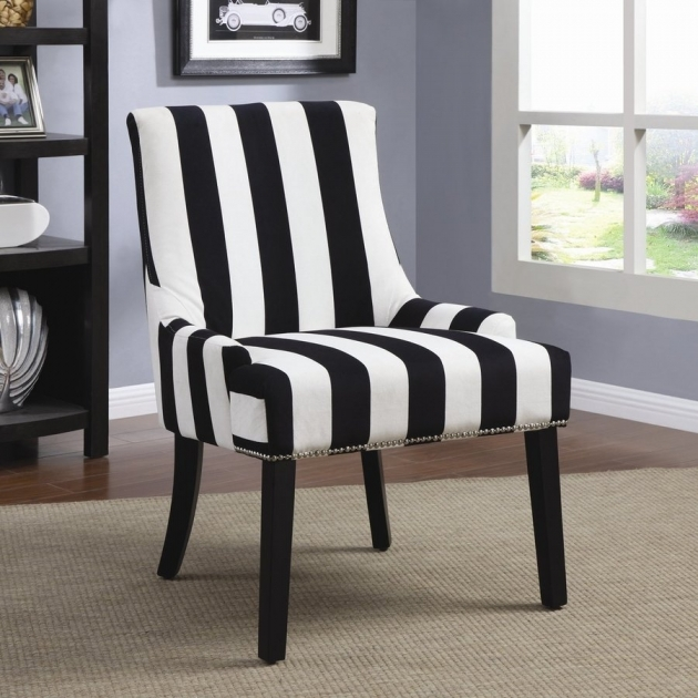 Classy Black Velvet Accent Chair Pictures