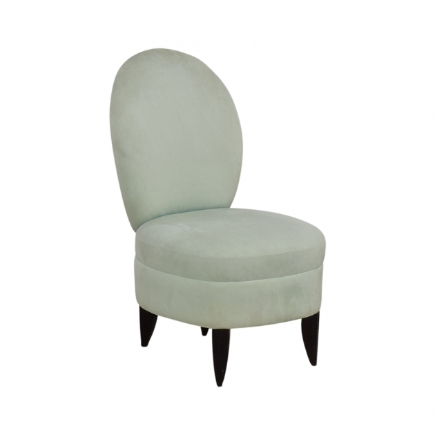 Classy Green Accent Chair With Arms Image