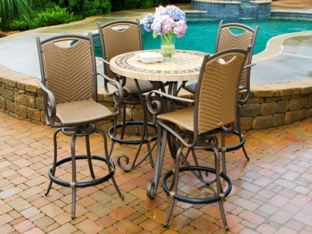 Classy Small Outdoor Patio Table And Chairs Images