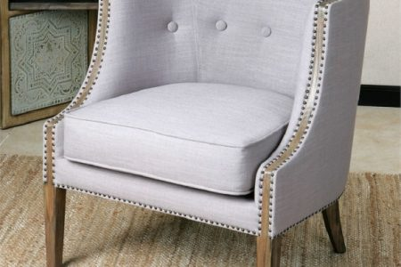 Light Gray Accent Chairs
