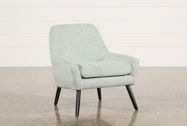Elegant Aqua Accent Chair Image
