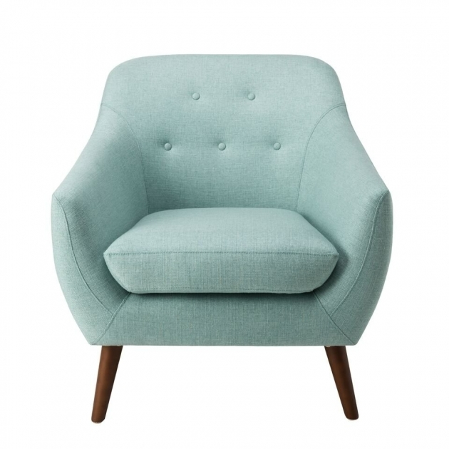 Elegant Aqua Accent Chair Picture