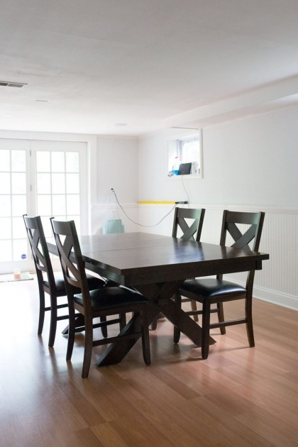 Elegant Chalk Paint Kitchen Table And Chairs Images