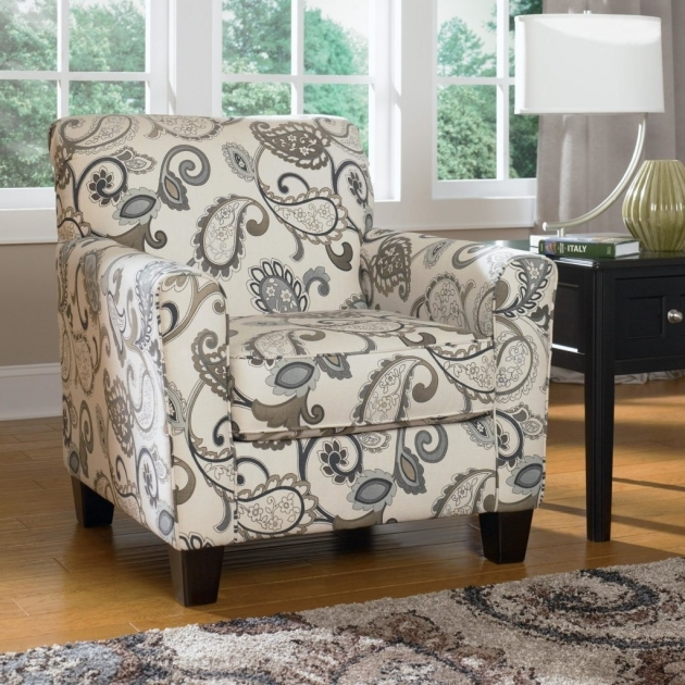 Elegant Printed Accent Chairs Picture
