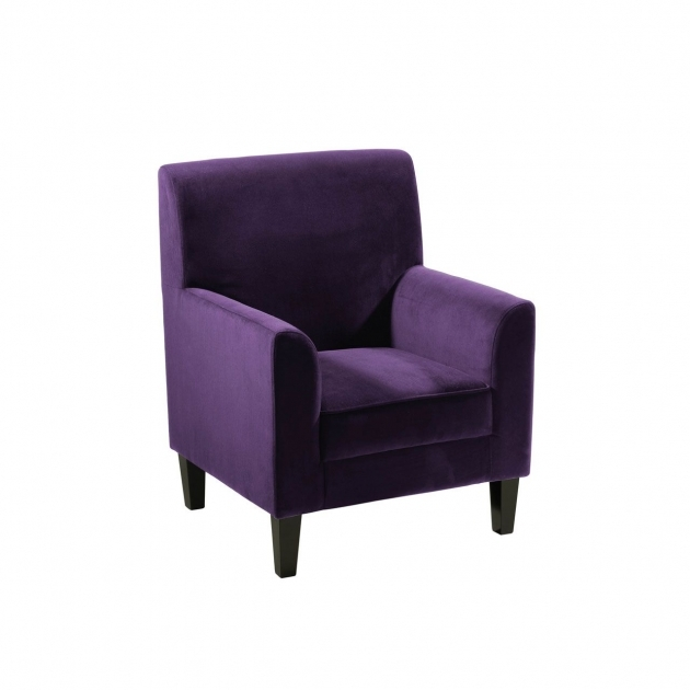 Elegant Purple Accent Chairs Sale Pic