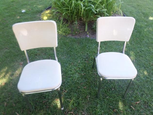 Elegant Reupholster Kitchen Chair Photo