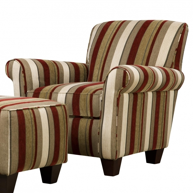 Elegant Striped Accent Chairs Pics