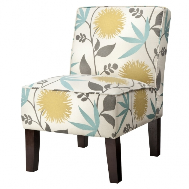 Elegant Yellow And Gray Accent Chair Ideas