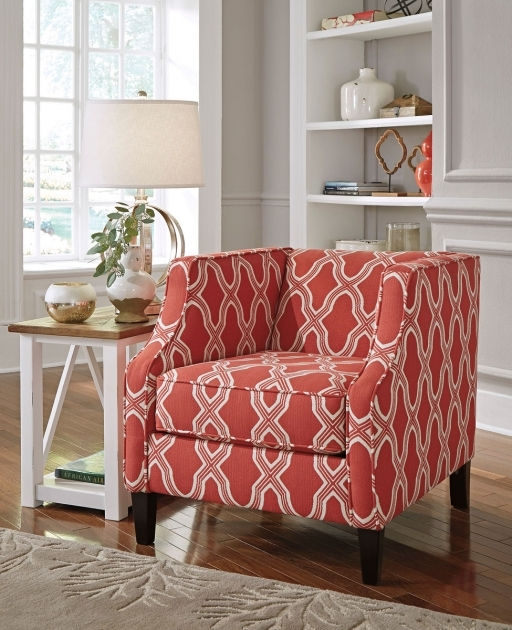 Fantastic Coral Accent Chair Images