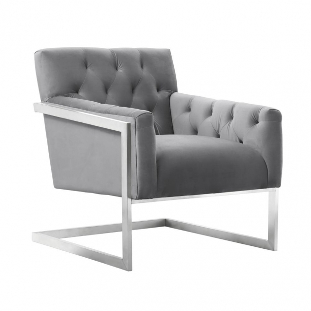 Fantastic Grey Patterned Accent Chair Photos