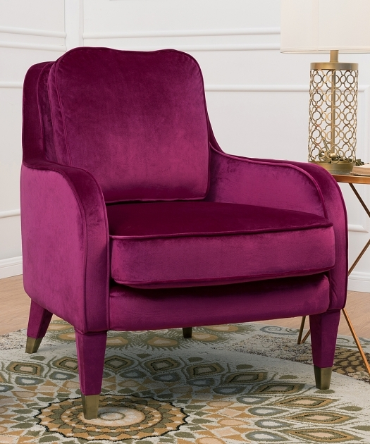 Fantastic Plum Accent Chair Pic