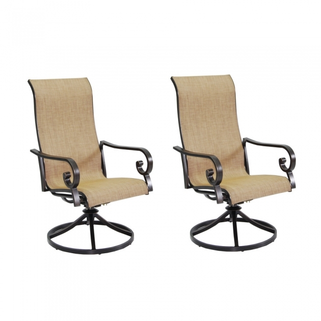 Fantastic Sling Swivel Rocker Patio Chairs Pictures