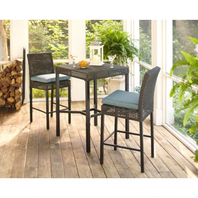 Fascinating Patio Tall Table And Chairs Picture