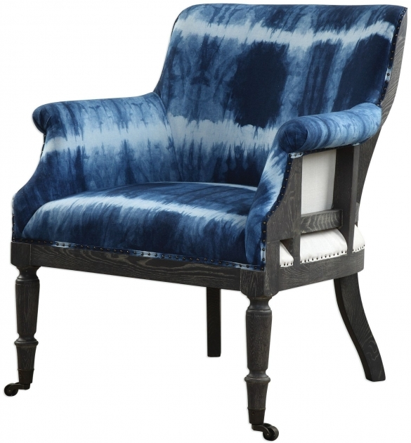 Fascinating Royal Blue Accent Chair Picture