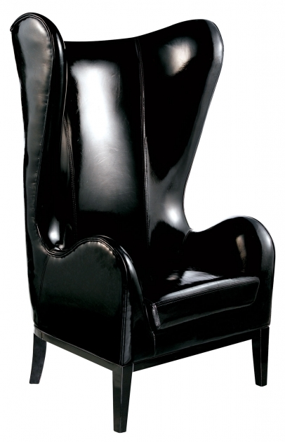 Fascinating Small Leather Accent Chairs Image