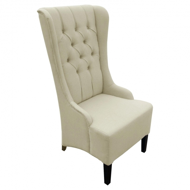 Fascinating Tall Back Accent Chairs Pics