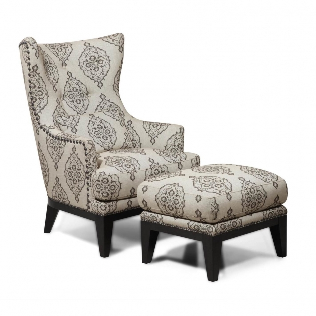 Fresh Damask Accent Chair Picture