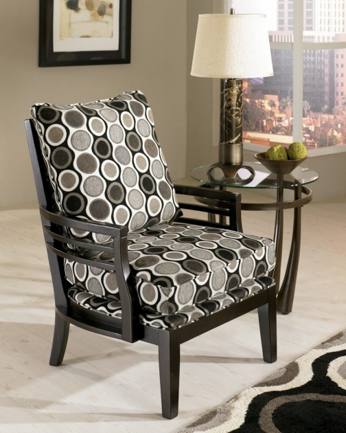 Glamorous Accent Chairs With Wood Arms Pic