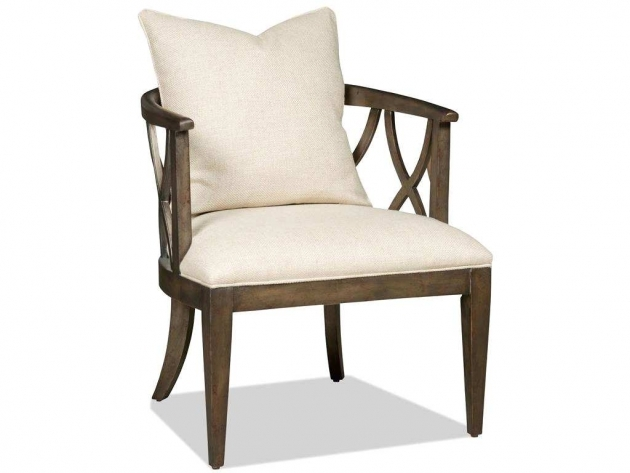 Glamorous Accent Chairs With Wood Arms Pics