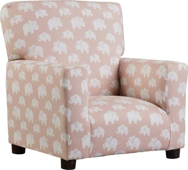 Glamorous Light Pink Accent Chair Photo