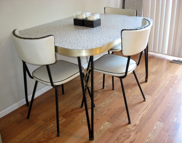 Good 1950S Formica Kitchen Table And Chairs Photo