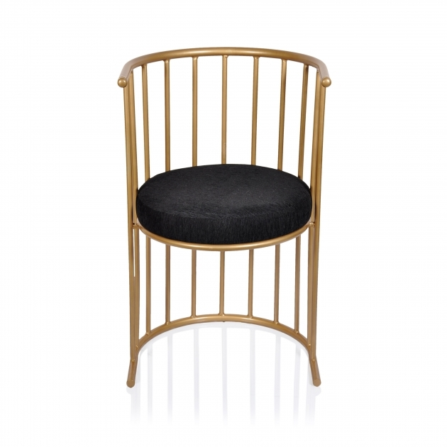 Good Black And Gold Accent Chair Pic